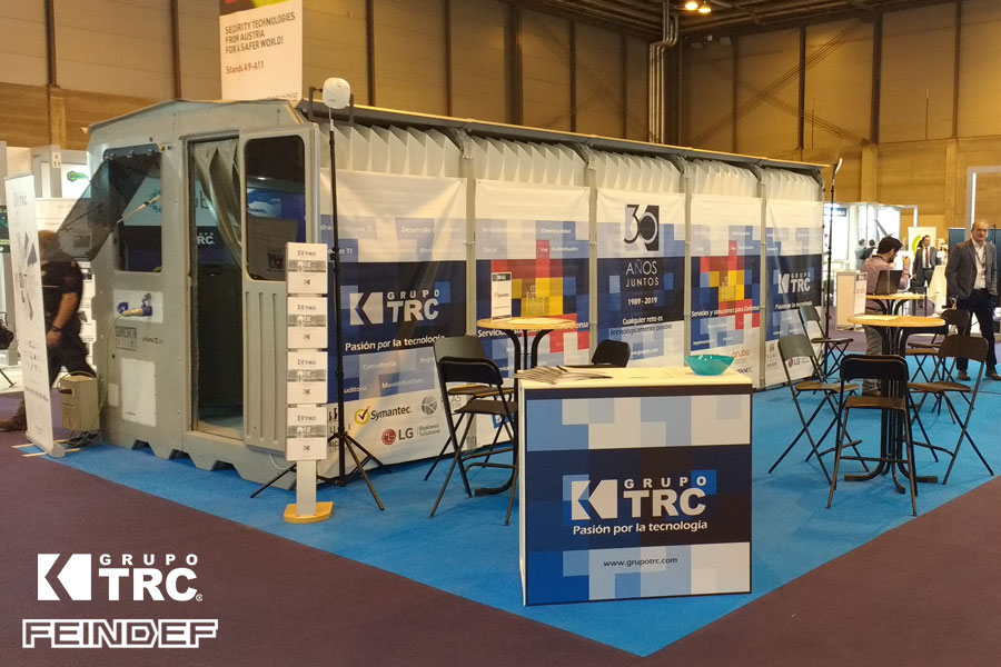 Stand FEINDEF 2019 Grupo TRC