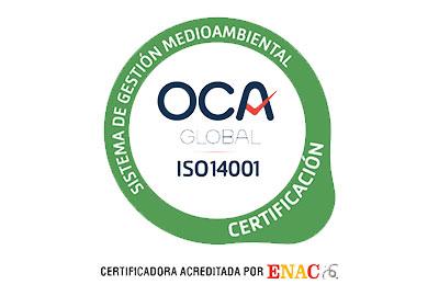 UNE-EN ISO 14001 Certificacion Grupalia Internet