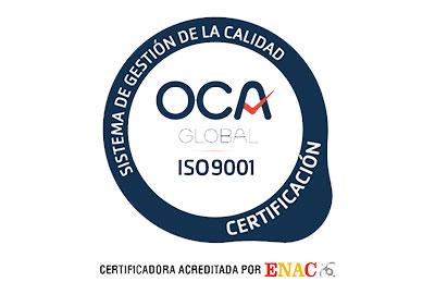 UNE-EN ISO 9001 Certificacion Grupalia Internet